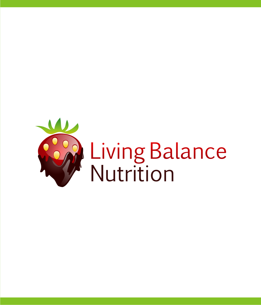 Logo Design by graphicleaf - Entry No. 18 in the Logo Design Contest Unique Logo Design Wanted for Living Balance Nutrition.