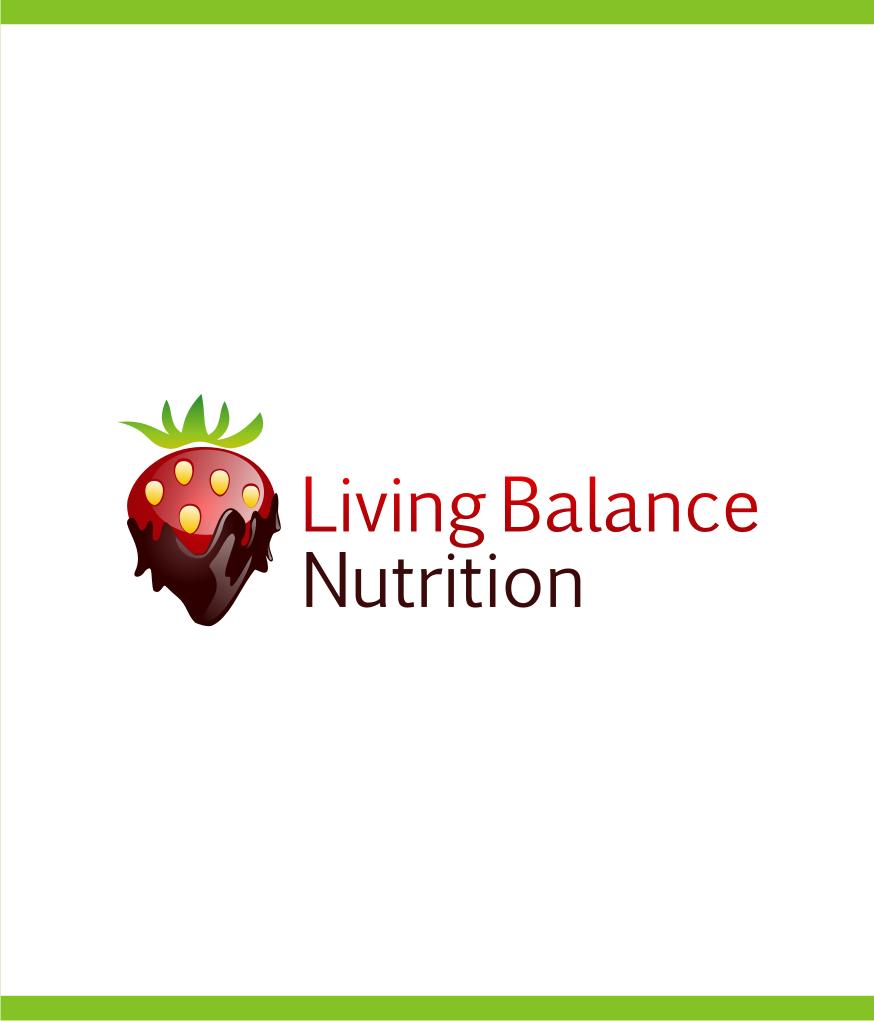 Logo Design by Muhammad Nasrul chasib - Entry No. 18 in the Logo Design Contest Unique Logo Design Wanted for Living Balance Nutrition.