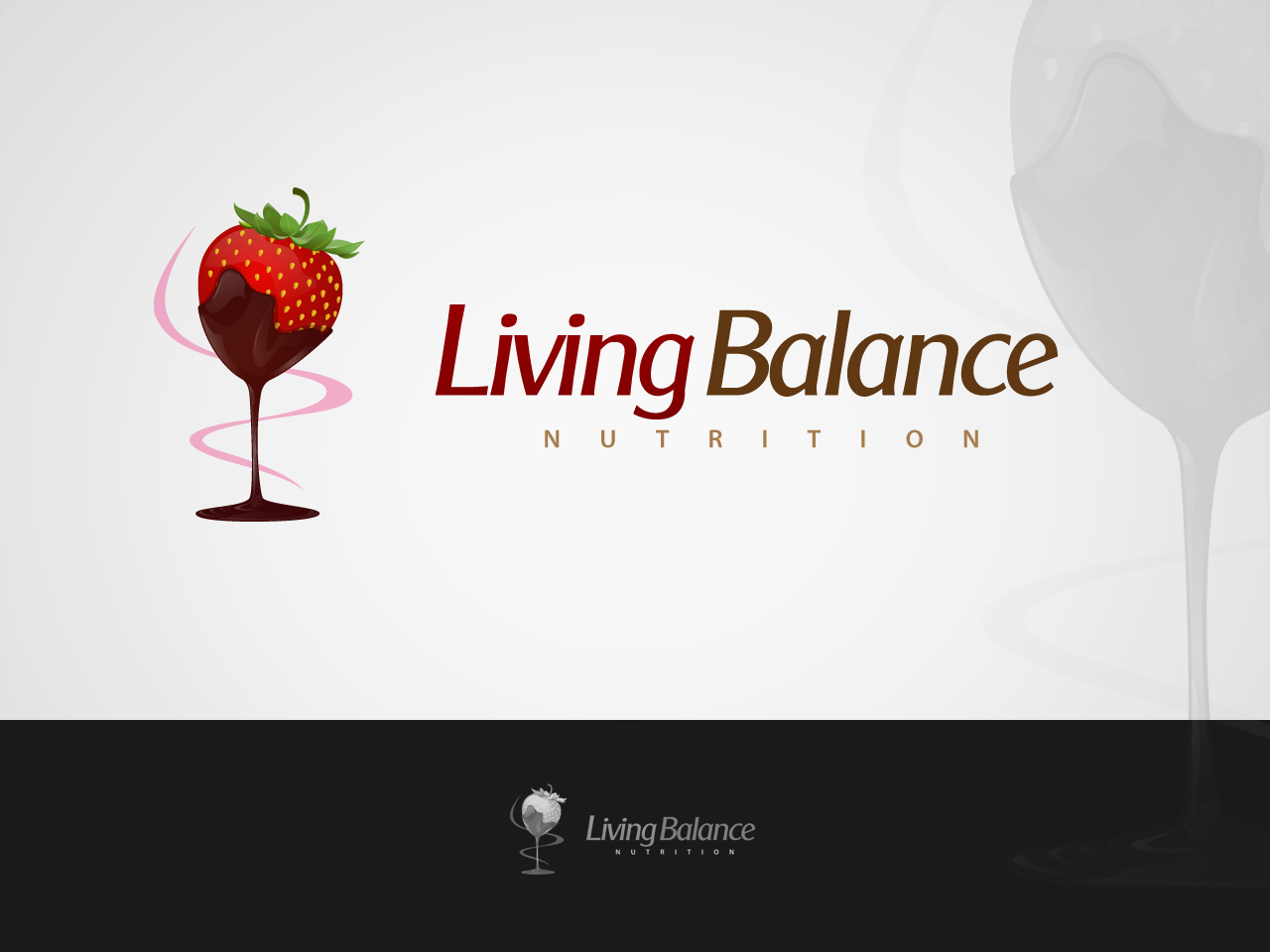 Logo Design by jpbituin - Entry No. 20 in the Logo Design Contest Unique Logo Design Wanted for Living Balance Nutrition.