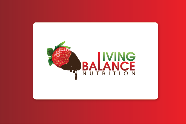 Logo Design by Private User - Entry No. 21 in the Logo Design Contest Unique Logo Design Wanted for Living Balance Nutrition.