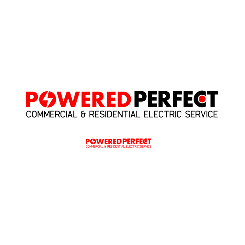 Logo Design by Private User - Entry No. 66 in the Logo Design Contest Captivating Logo Design for Powered Perfect.