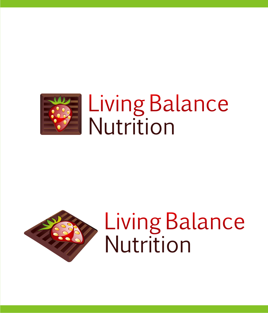 Logo Design by Muhammad Nasrul chasib - Entry No. 24 in the Logo Design Contest Unique Logo Design Wanted for Living Balance Nutrition.