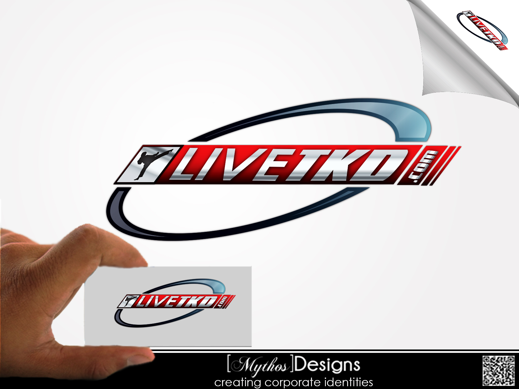 Logo Design by Mythos Designs - Entry No. 217 in the Logo Design Contest New Logo Design for LiveTKD.com.