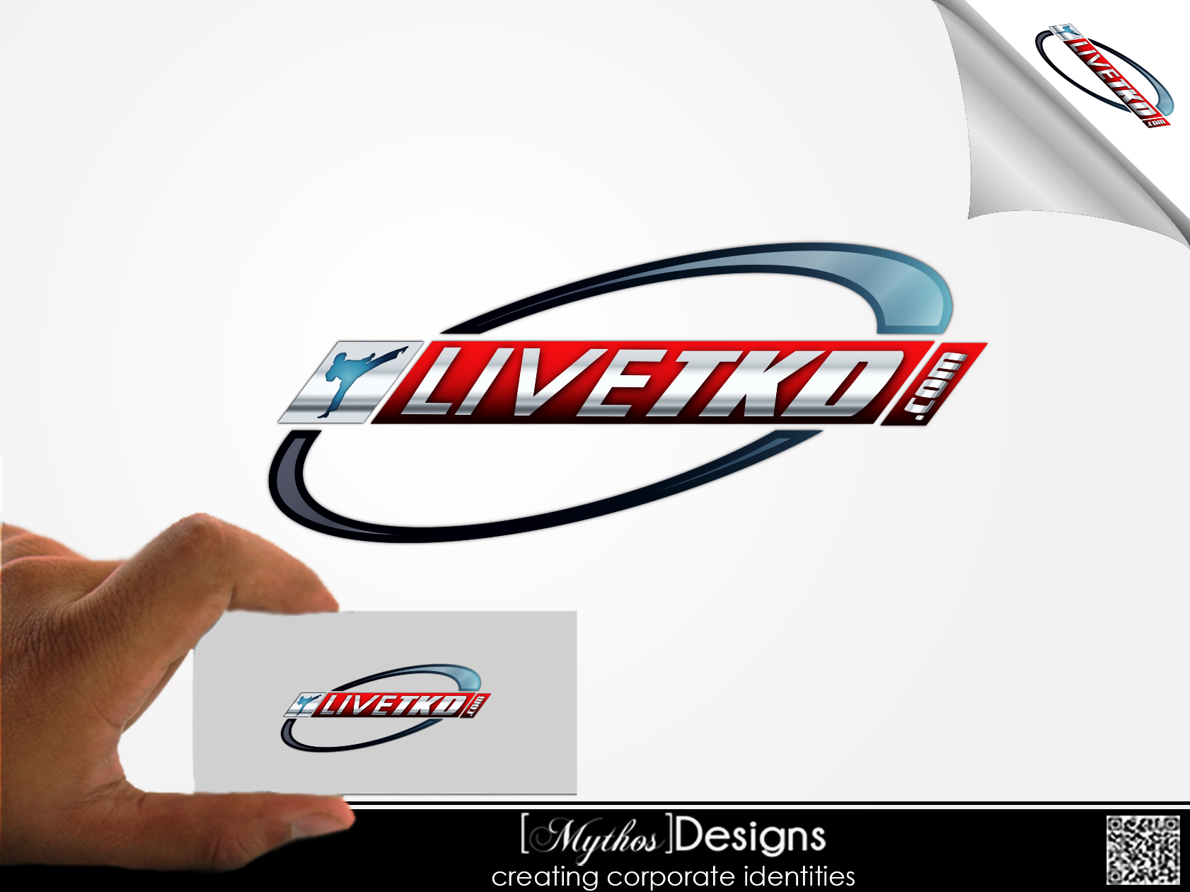 Logo Design by Mythos Designs - Entry No. 218 in the Logo Design Contest New Logo Design for LiveTKD.com.