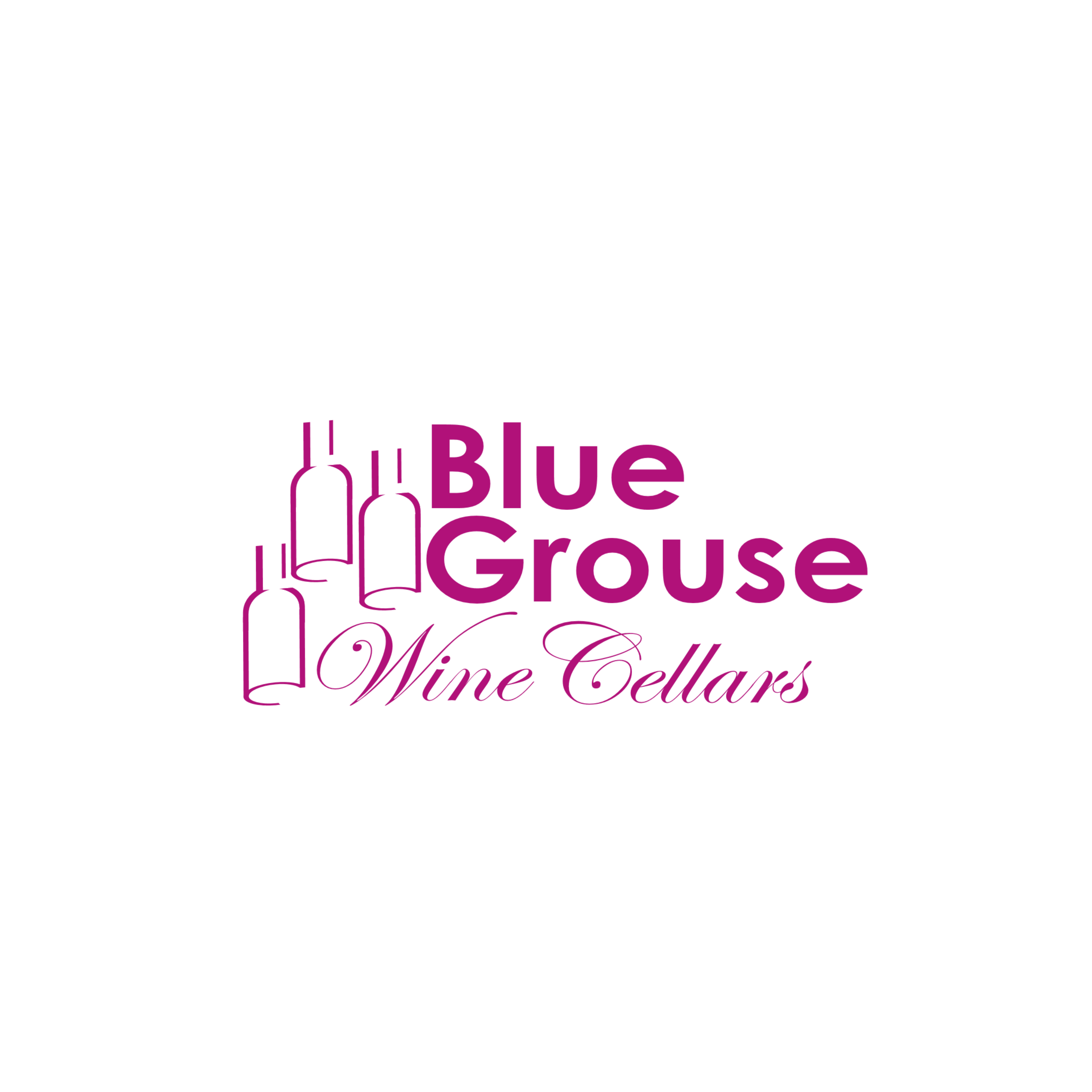 Logo Design by Ismail Adhi Wibowo - Entry No. 4 in the Logo Design Contest Creative Logo Design for Blue Grouse Wine Cellars.