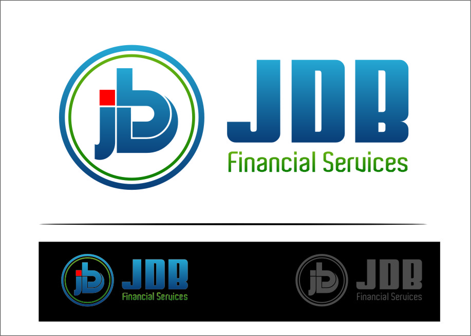 Logo Design by RoSyid Rono-Rene On Java - Entry No. 24 in the Logo Design Contest Unique Logo Design Wanted for JDB Financial Services.