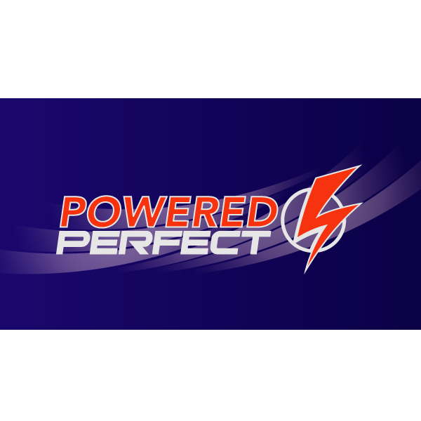 Logo Design by FIELDART - Entry No. 70 in the Logo Design Contest Captivating Logo Design for Powered Perfect.