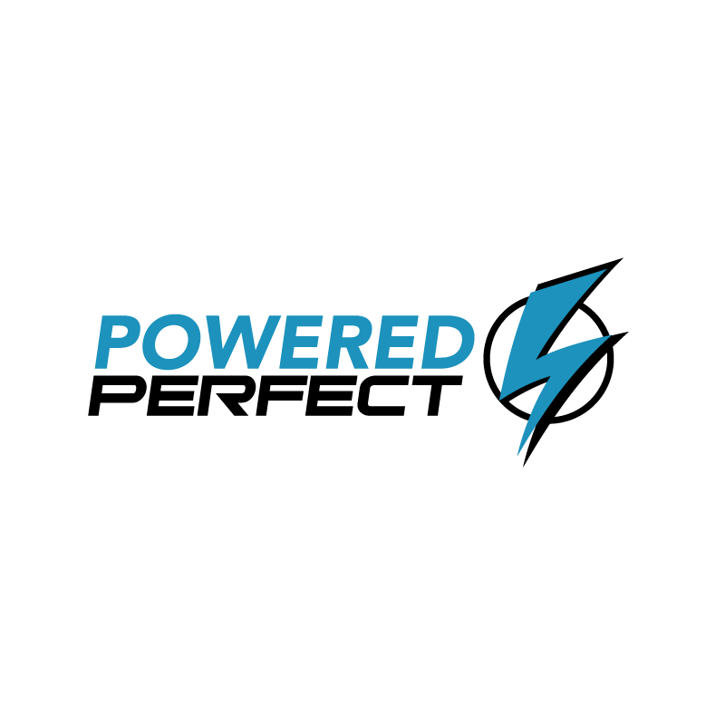 Logo Design by FIELDART - Entry No. 71 in the Logo Design Contest Captivating Logo Design for Powered Perfect.