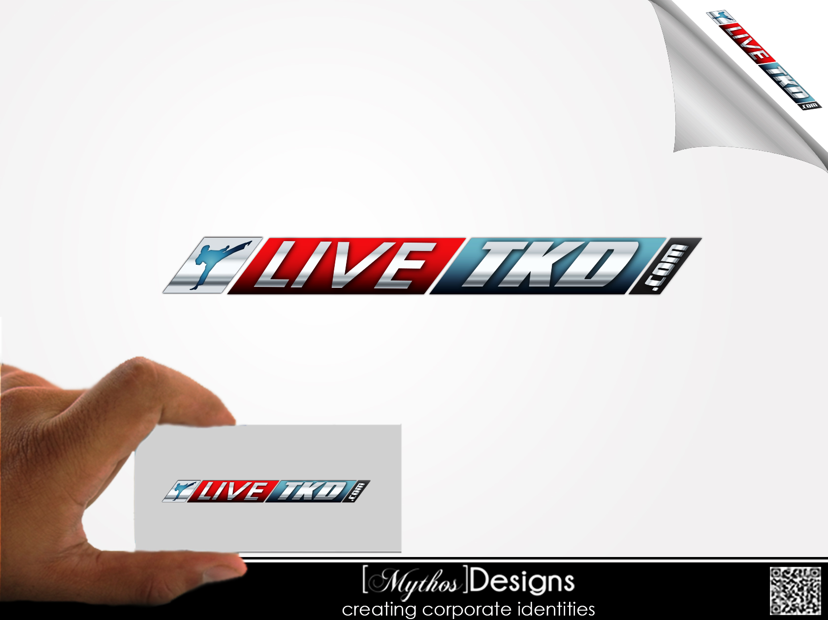 Logo Design by Mythos Designs - Entry No. 221 in the Logo Design Contest New Logo Design for LiveTKD.com.