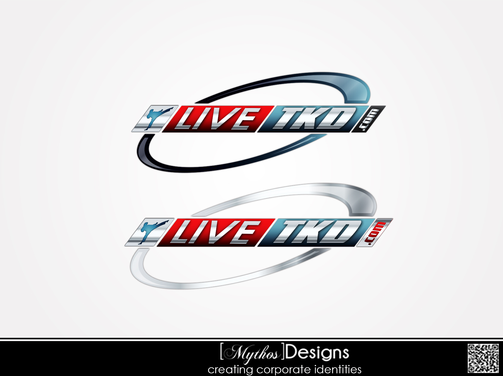 Logo Design by Mythos Designs - Entry No. 222 in the Logo Design Contest New Logo Design for LiveTKD.com.