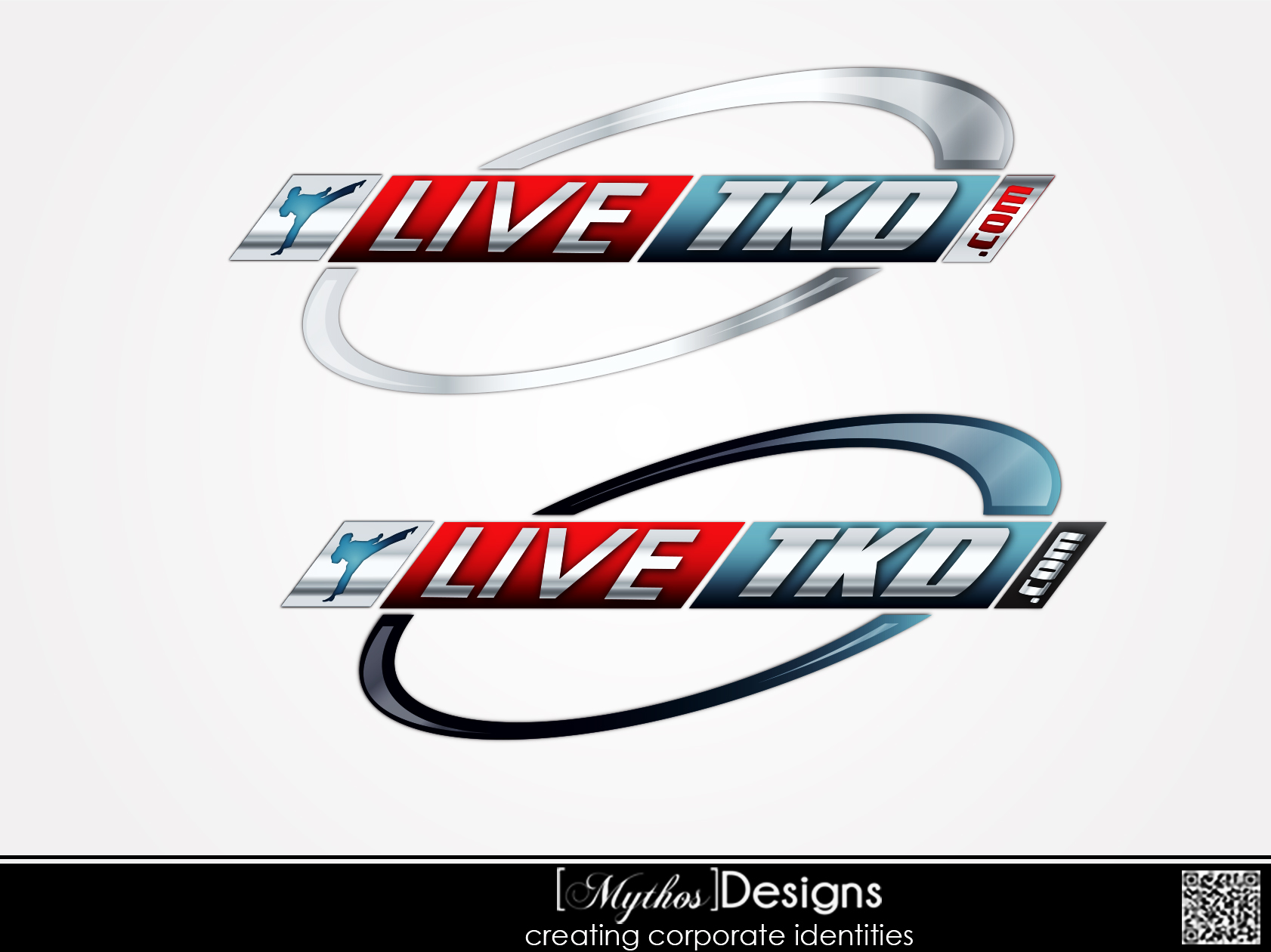 Logo Design by Mythos Designs - Entry No. 223 in the Logo Design Contest New Logo Design for LiveTKD.com.