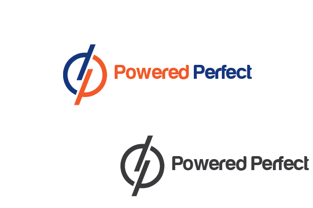 Logo Design by Private User - Entry No. 73 in the Logo Design Contest Captivating Logo Design for Powered Perfect.