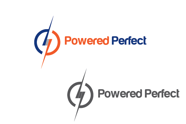Logo Design by Private User - Entry No. 74 in the Logo Design Contest Captivating Logo Design for Powered Perfect.