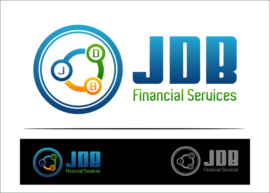 Logo Design by RasYa Muhammad Athaya - Entry No. 32 in the Logo Design Contest Unique Logo Design Wanted for JDB Financial Services.