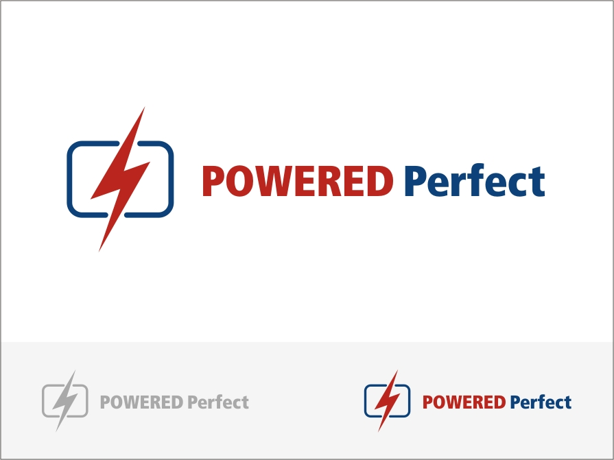 Logo Design by RED HORSE design studio - Entry No. 80 in the Logo Design Contest Captivating Logo Design for Powered Perfect.