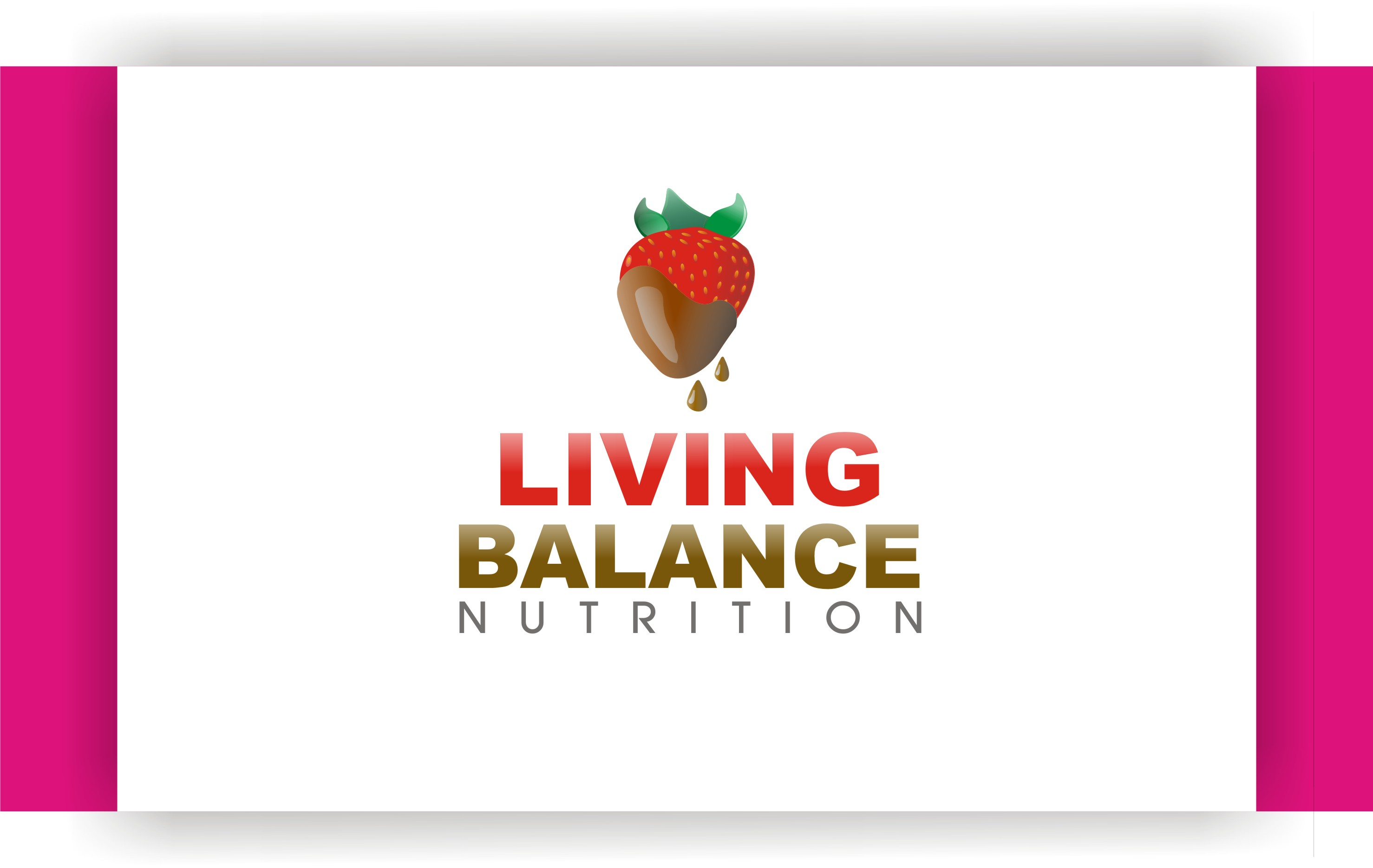 Logo Design by Shailender Kumar - Entry No. 27 in the Logo Design Contest Unique Logo Design Wanted for Living Balance Nutrition.