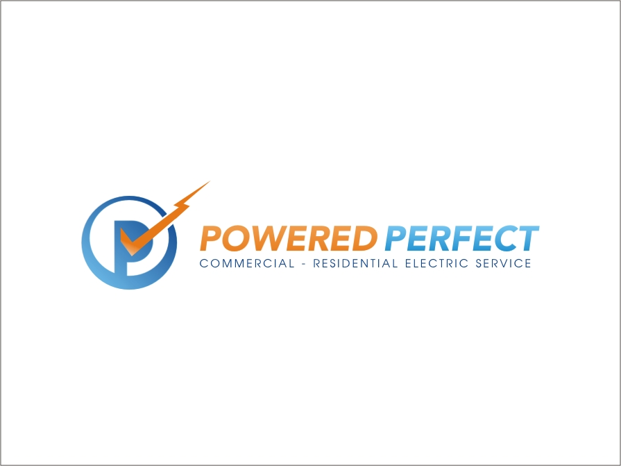 Logo Design by RED HORSE design studio - Entry No. 84 in the Logo Design Contest Captivating Logo Design for Powered Perfect.