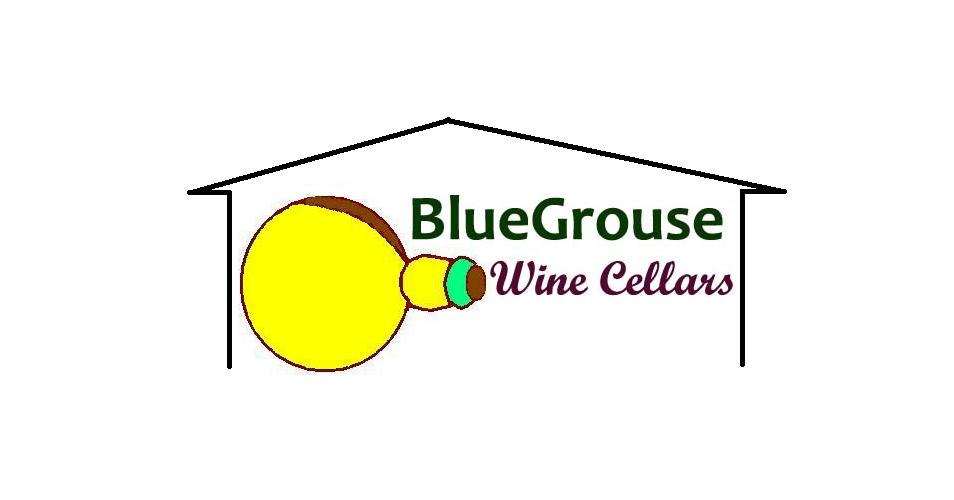 Logo Design by Mercedita Gerna-Castro - Entry No. 10 in the Logo Design Contest Creative Logo Design for Blue Grouse Wine Cellars.