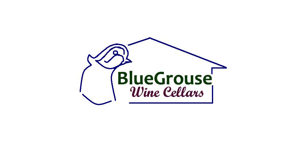 Logo Design by Mercedita Gerna-Castro - Entry No. 11 in the Logo Design Contest Creative Logo Design for Blue Grouse Wine Cellars.