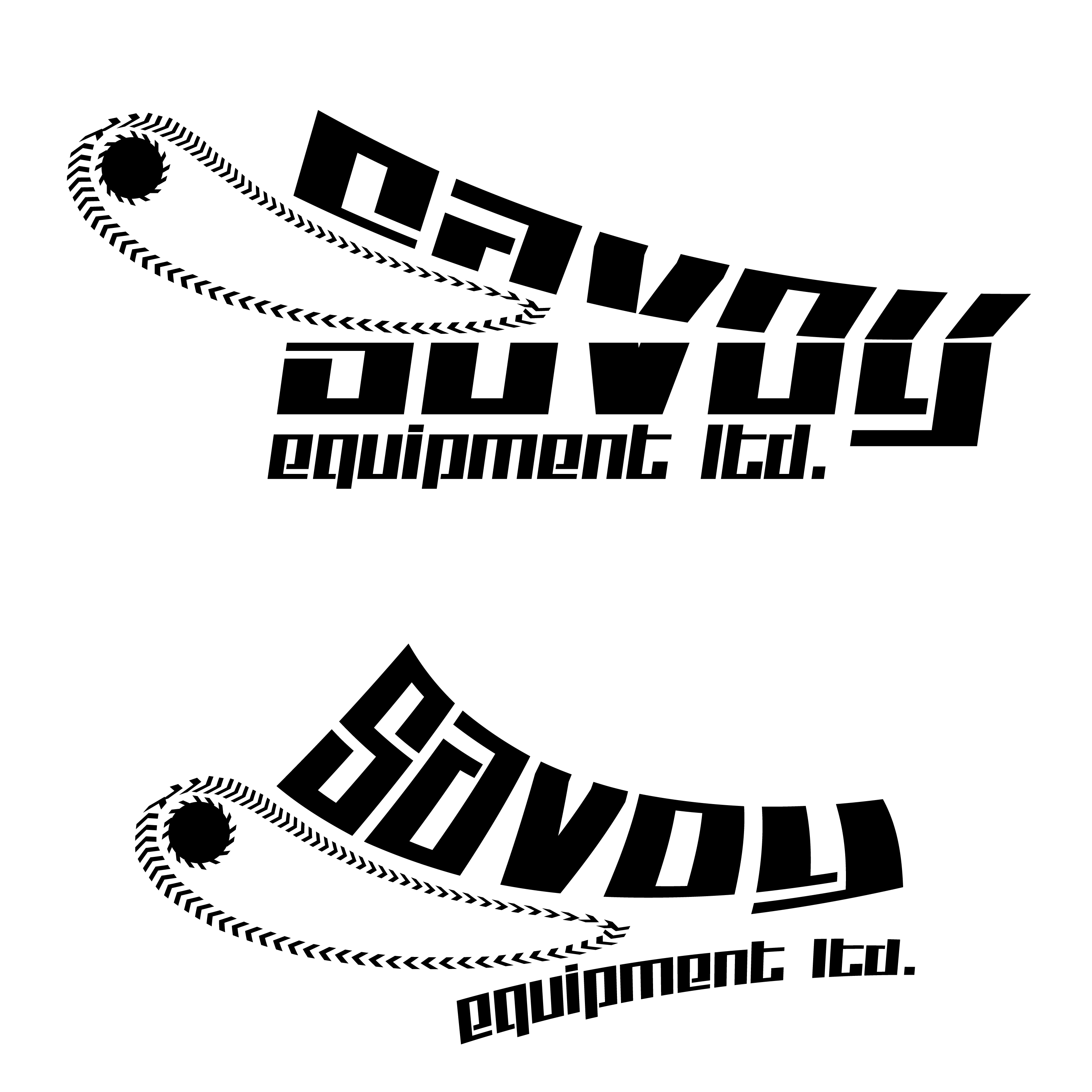 Logo Design by ISaac Law - Entry No. 112 in the Logo Design Contest Inspiring Logo Design for Savoy Equipment Ltd..