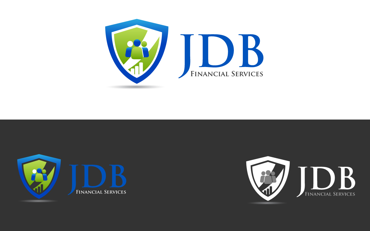 Logo Design by Jagdeep Singh - Entry No. 44 in the Logo Design Contest Unique Logo Design Wanted for JDB Financial Services.