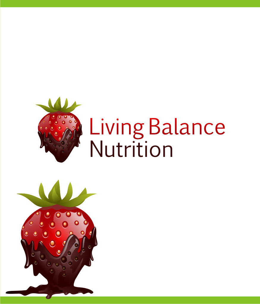 Logo Design by Muhammad Nasrul chasib - Entry No. 31 in the Logo Design Contest Unique Logo Design Wanted for Living Balance Nutrition.
