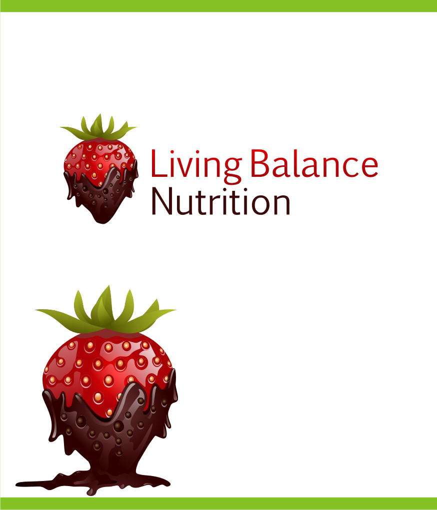 Logo Design by graphicleaf - Entry No. 32 in the Logo Design Contest Unique Logo Design Wanted for Living Balance Nutrition.