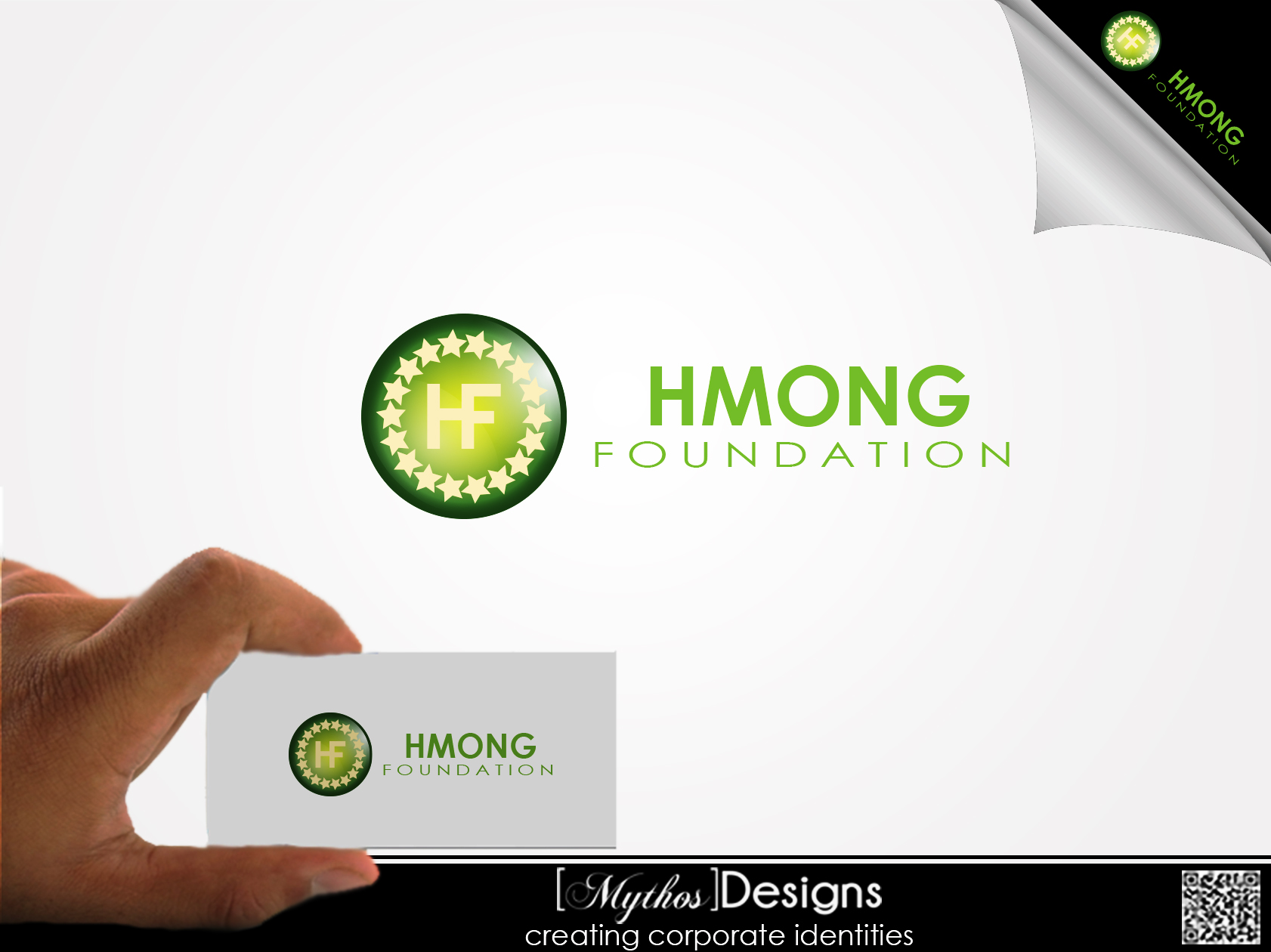 Logo Design by Mythos Designs - Entry No. 4 in the Logo Design Contest Fun Logo Design for Hmong Foundation.