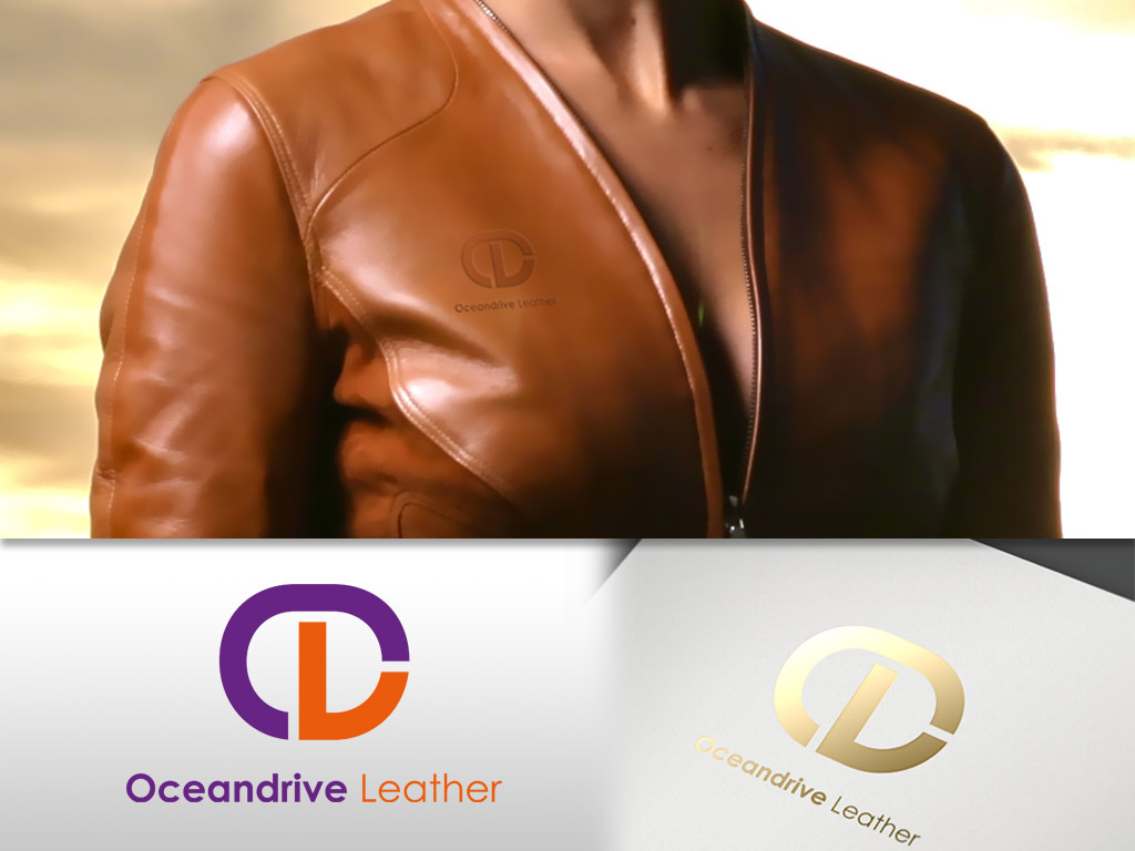 Logo Design by khoirul.azm - Entry No. 15 in the Logo Design Contest Captivating Logo Design for Oceandrive Leather.