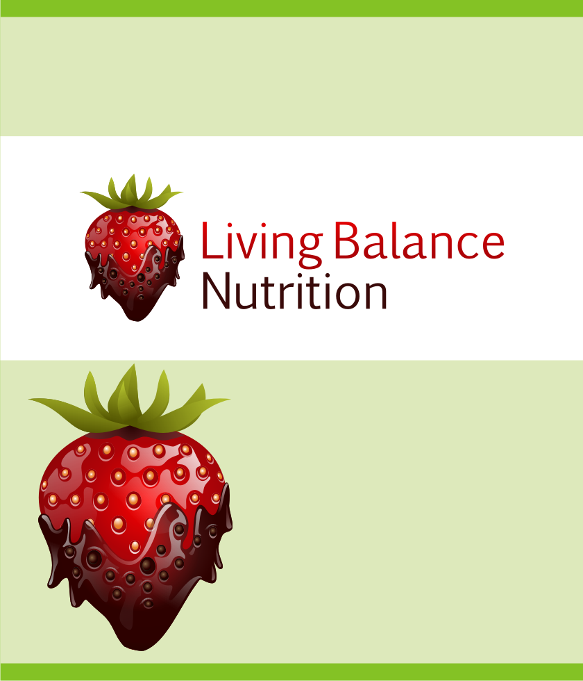Logo Design by graphicleaf - Entry No. 36 in the Logo Design Contest Unique Logo Design Wanted for Living Balance Nutrition.