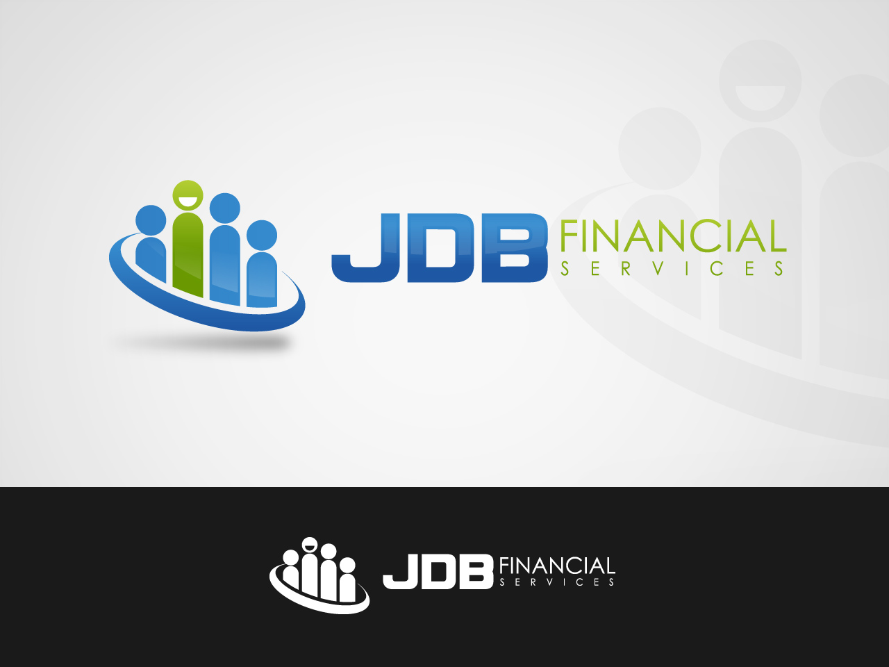 Logo Design by jpbituin - Entry No. 60 in the Logo Design Contest Unique Logo Design Wanted for JDB Financial Services.