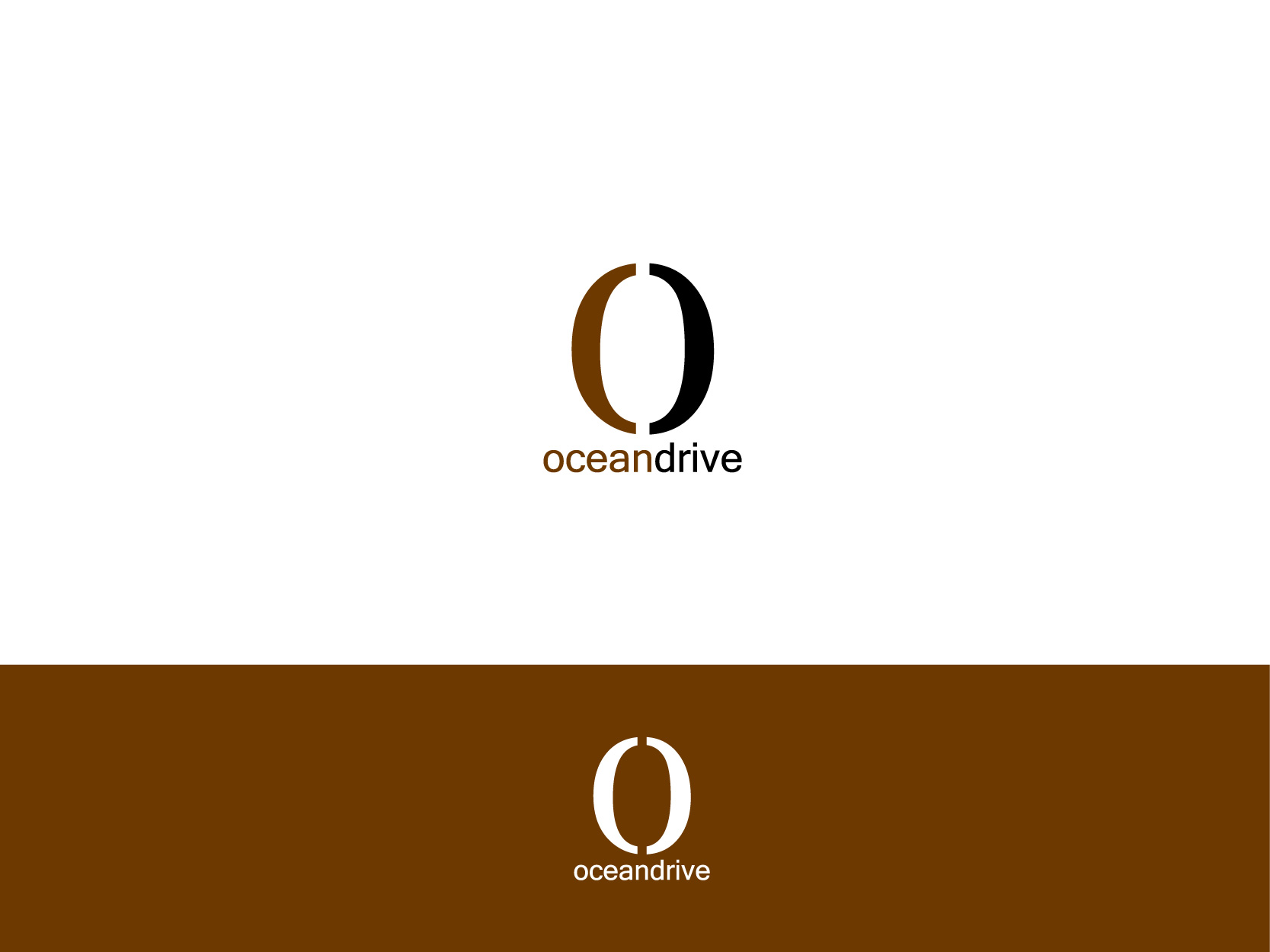 Logo Design by Osi Indra - Entry No. 16 in the Logo Design Contest Captivating Logo Design for Oceandrive Leather.