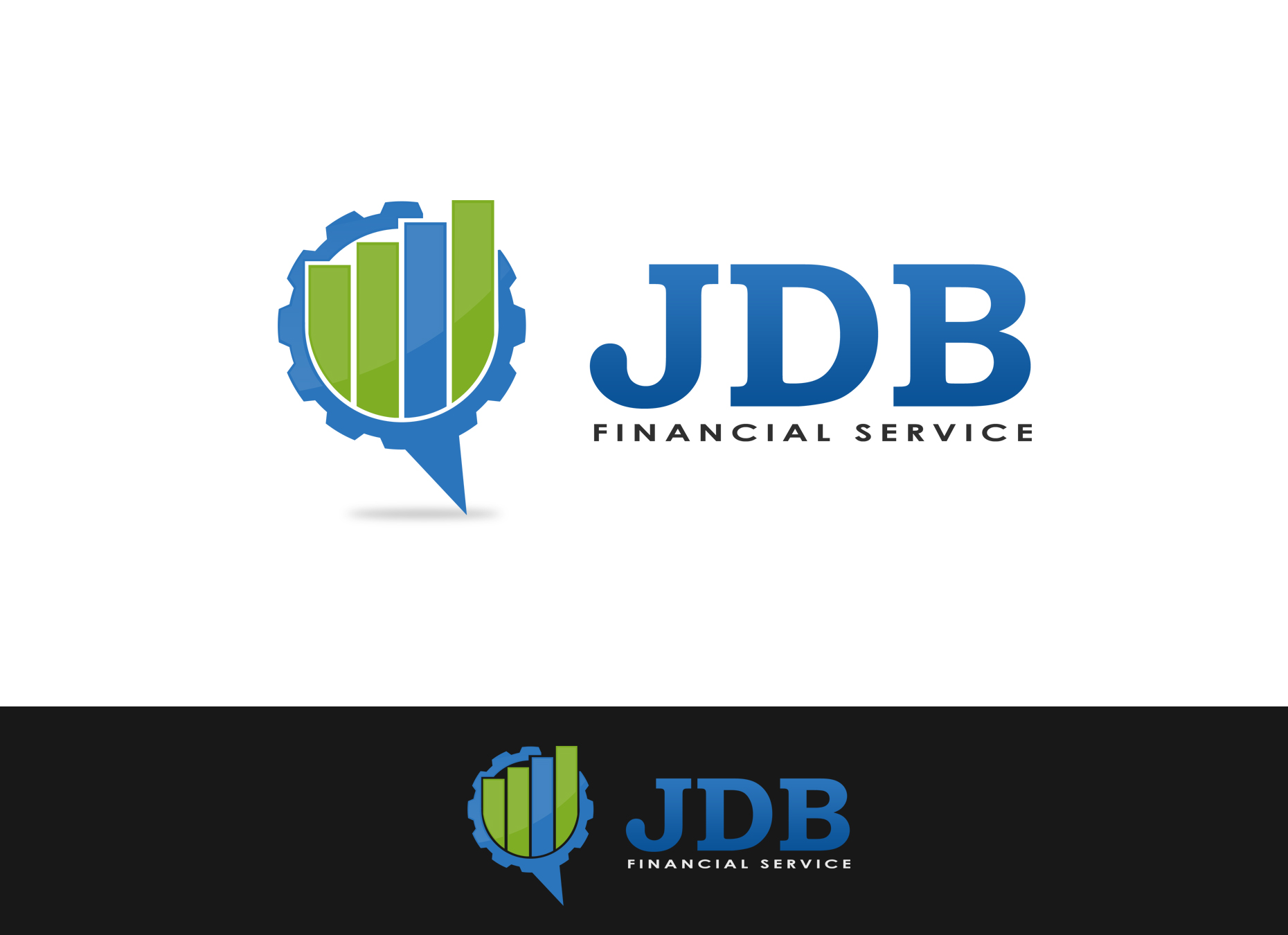 Logo Design by omARTist - Entry No. 61 in the Logo Design Contest Unique Logo Design Wanted for JDB Financial Services.