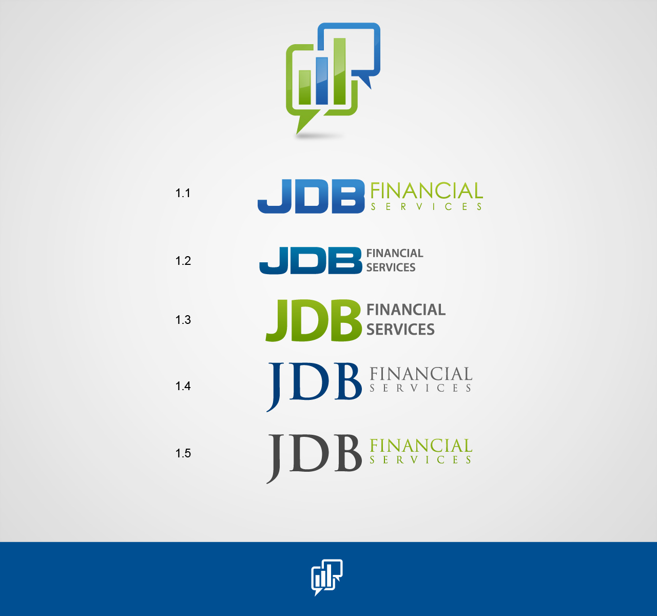 Logo Design by jpbituin - Entry No. 62 in the Logo Design Contest Unique Logo Design Wanted for JDB Financial Services.