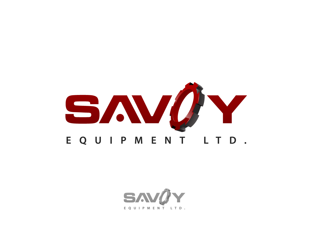 Logo Design by jpbituin - Entry No. 149 in the Logo Design Contest Inspiring Logo Design for Savoy Equipment Ltd..