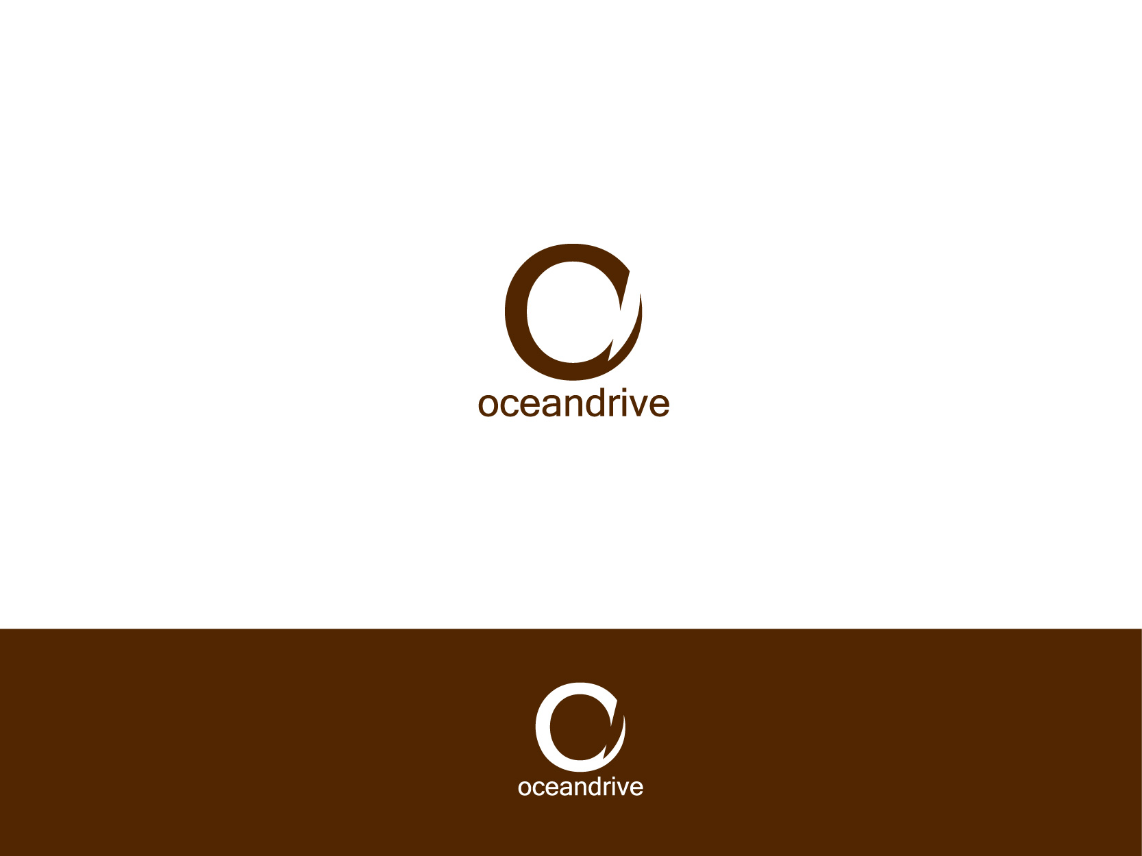 Logo Design by Osi Indra - Entry No. 17 in the Logo Design Contest Captivating Logo Design for Oceandrive Leather.