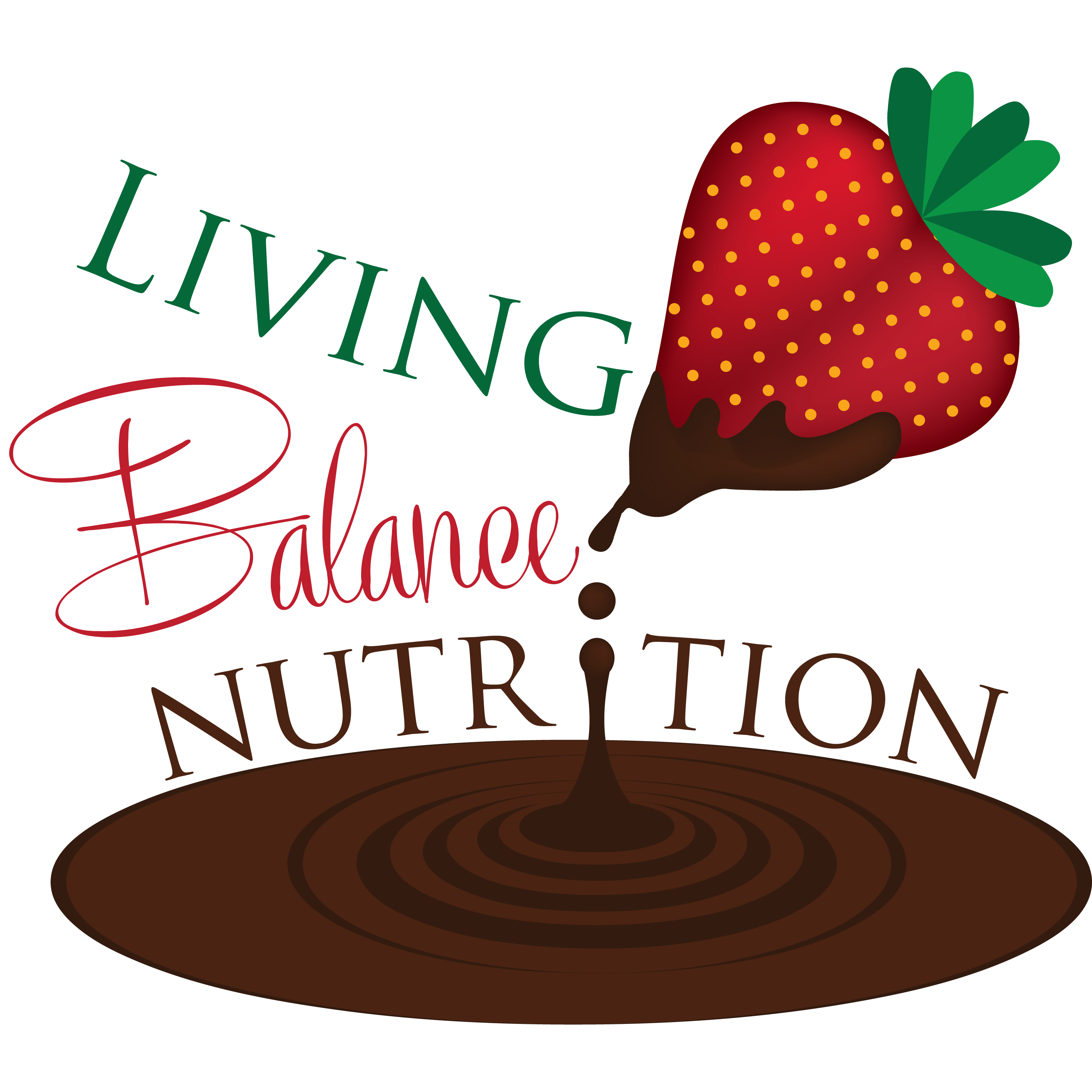 Logo Design by ISaac Law - Entry No. 44 in the Logo Design Contest Unique Logo Design Wanted for Living Balance Nutrition.