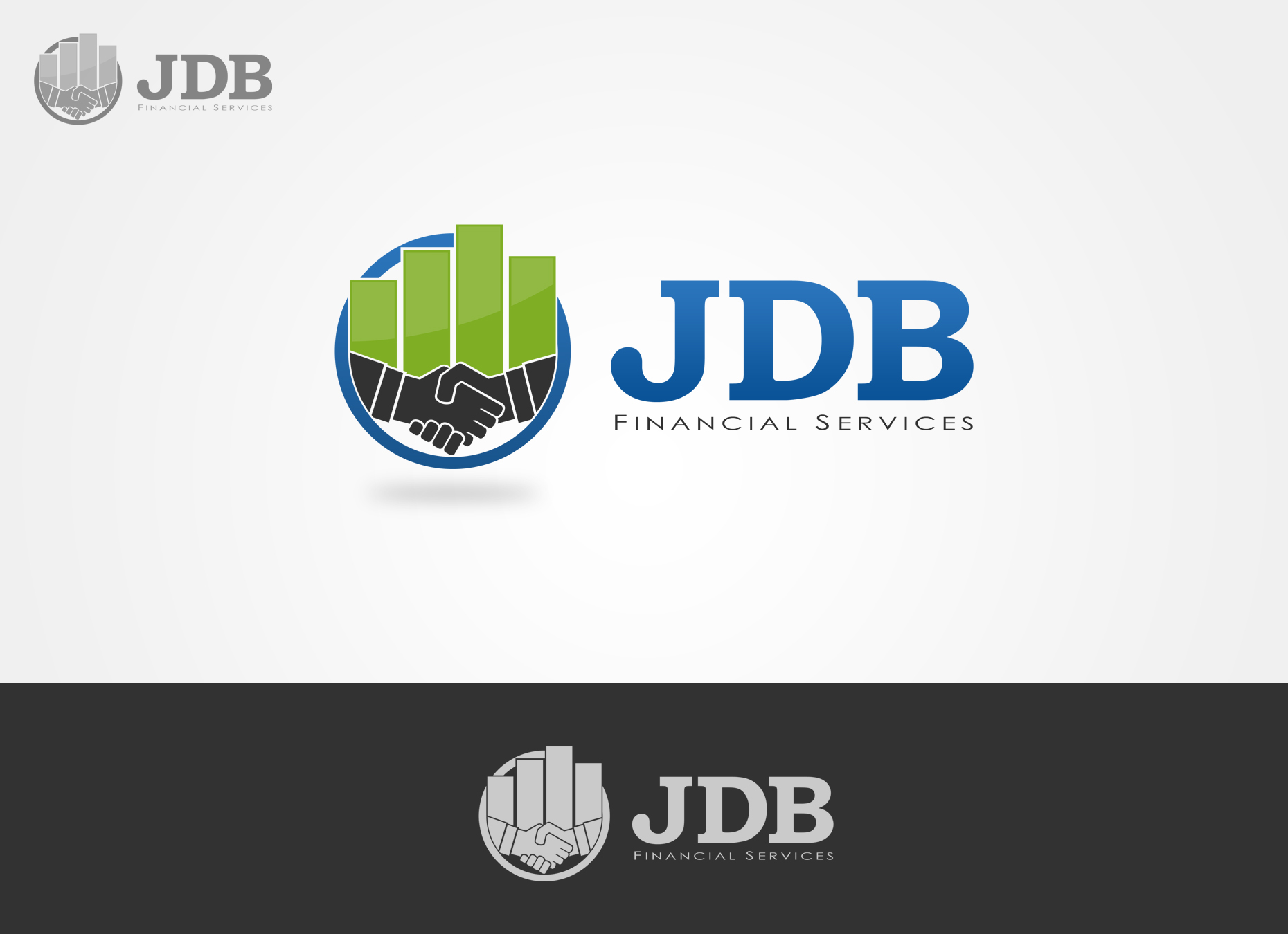 Logo Design by omARTist - Entry No. 65 in the Logo Design Contest Unique Logo Design Wanted for JDB Financial Services.
