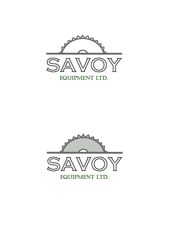 Logo Design by Private User - Entry No. 156 in the Logo Design Contest Inspiring Logo Design for Savoy Equipment Ltd..