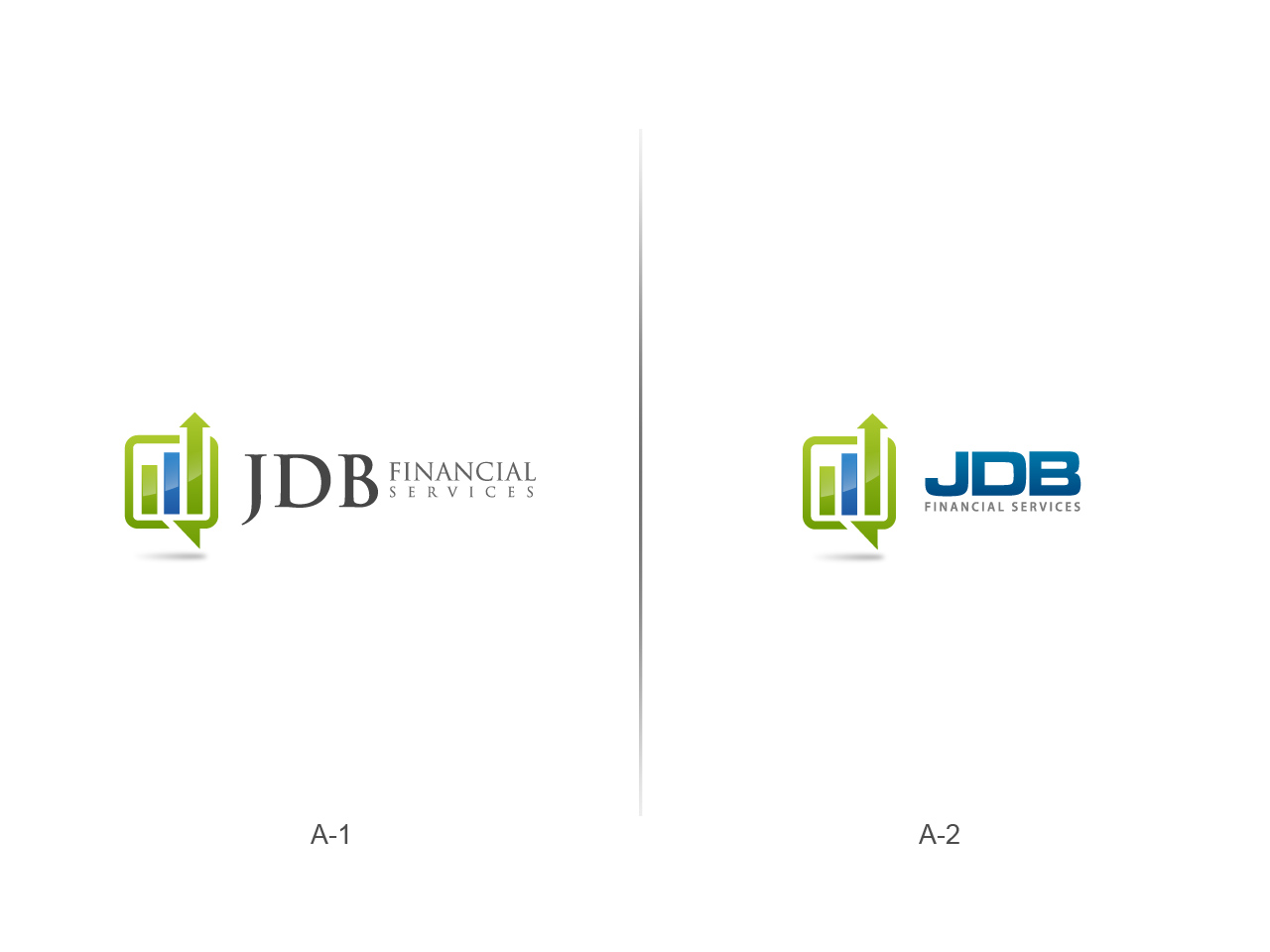 Logo Design by jpbituin - Entry No. 67 in the Logo Design Contest Unique Logo Design Wanted for JDB Financial Services.
