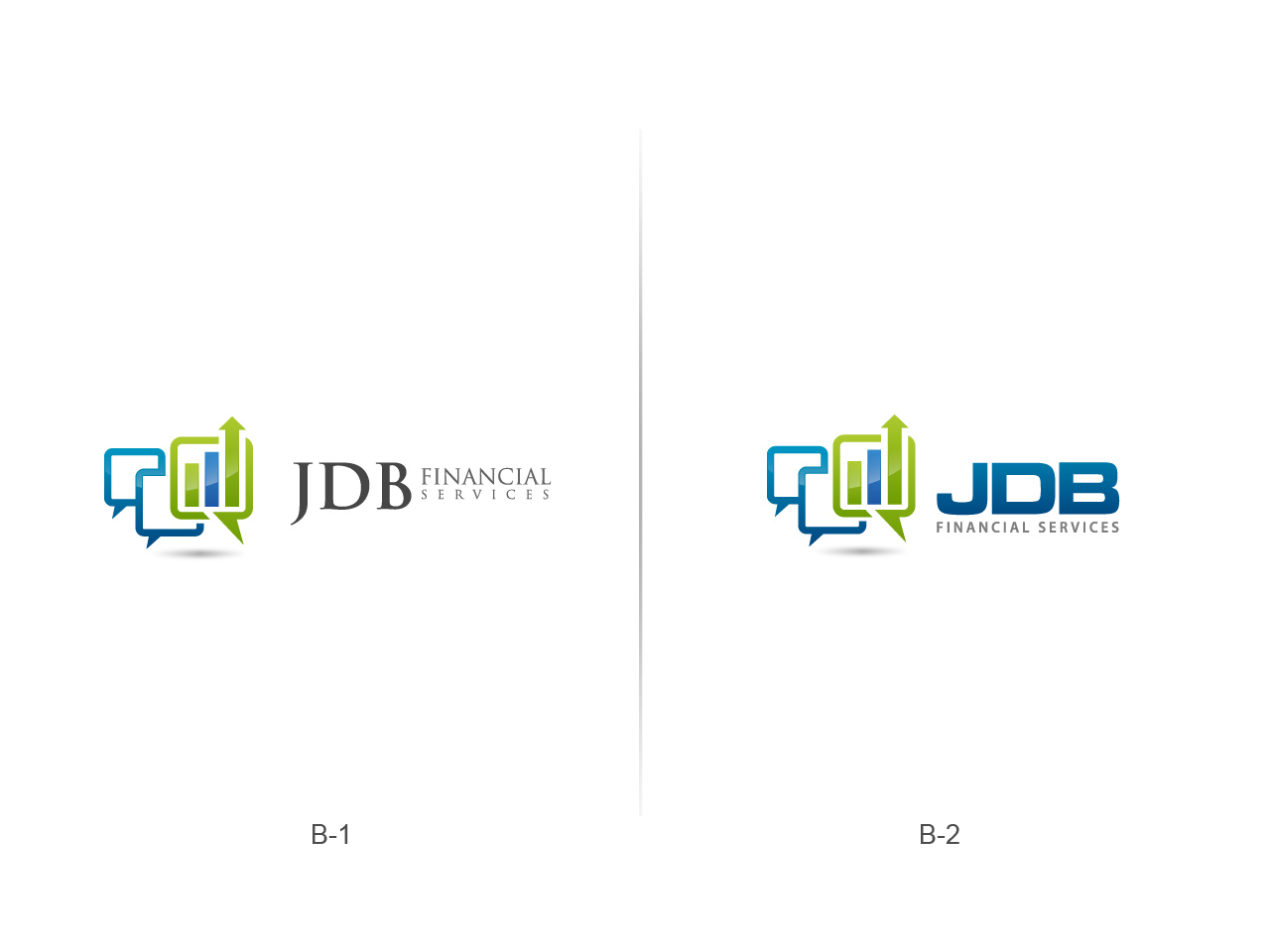 Logo Design by jpbituin - Entry No. 68 in the Logo Design Contest Unique Logo Design Wanted for JDB Financial Services.
