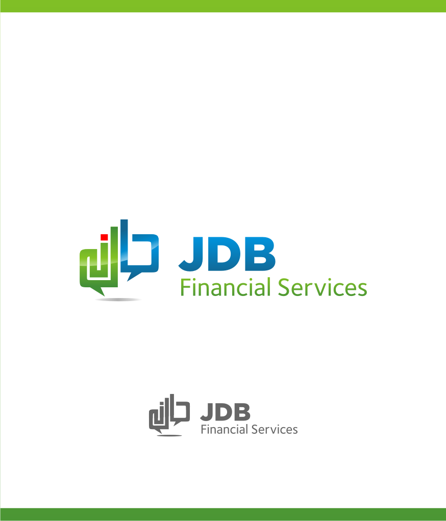Logo Design by graphicleaf - Entry No. 72 in the Logo Design Contest Unique Logo Design Wanted for JDB Financial Services.