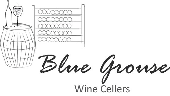 Logo Design by Vivek Singh - Entry No. 40 in the Logo Design Contest Creative Logo Design for Blue Grouse Wine Cellars.
