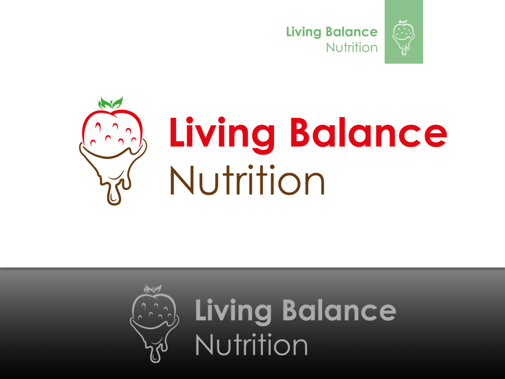 Logo Design by khoirul.azm - Entry No. 46 in the Logo Design Contest Unique Logo Design Wanted for Living Balance Nutrition.
