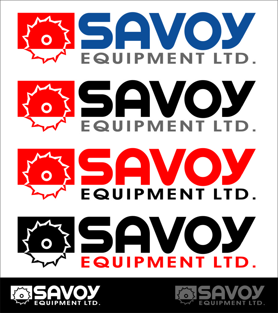 Logo Design by RasYa Muhammad Athaya - Entry No. 160 in the Logo Design Contest Inspiring Logo Design for Savoy Equipment Ltd..