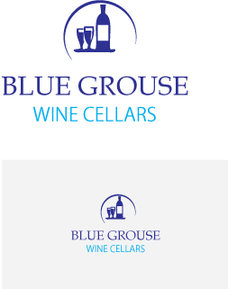 Logo Design by Private User - Entry No. 47 in the Logo Design Contest Creative Logo Design for Blue Grouse Wine Cellars.