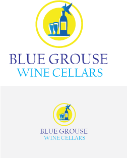 Logo Design by Private User - Entry No. 49 in the Logo Design Contest Creative Logo Design for Blue Grouse Wine Cellars.