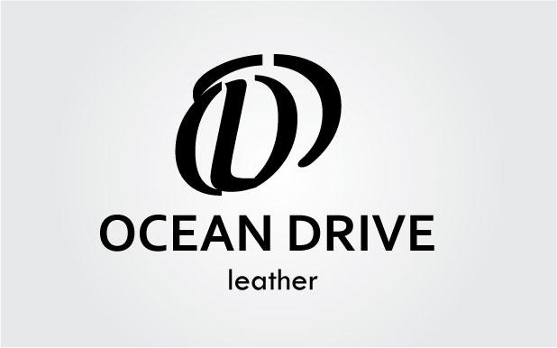Logo Design by Vivek Singh - Entry No. 20 in the Logo Design Contest Captivating Logo Design for Oceandrive Leather.