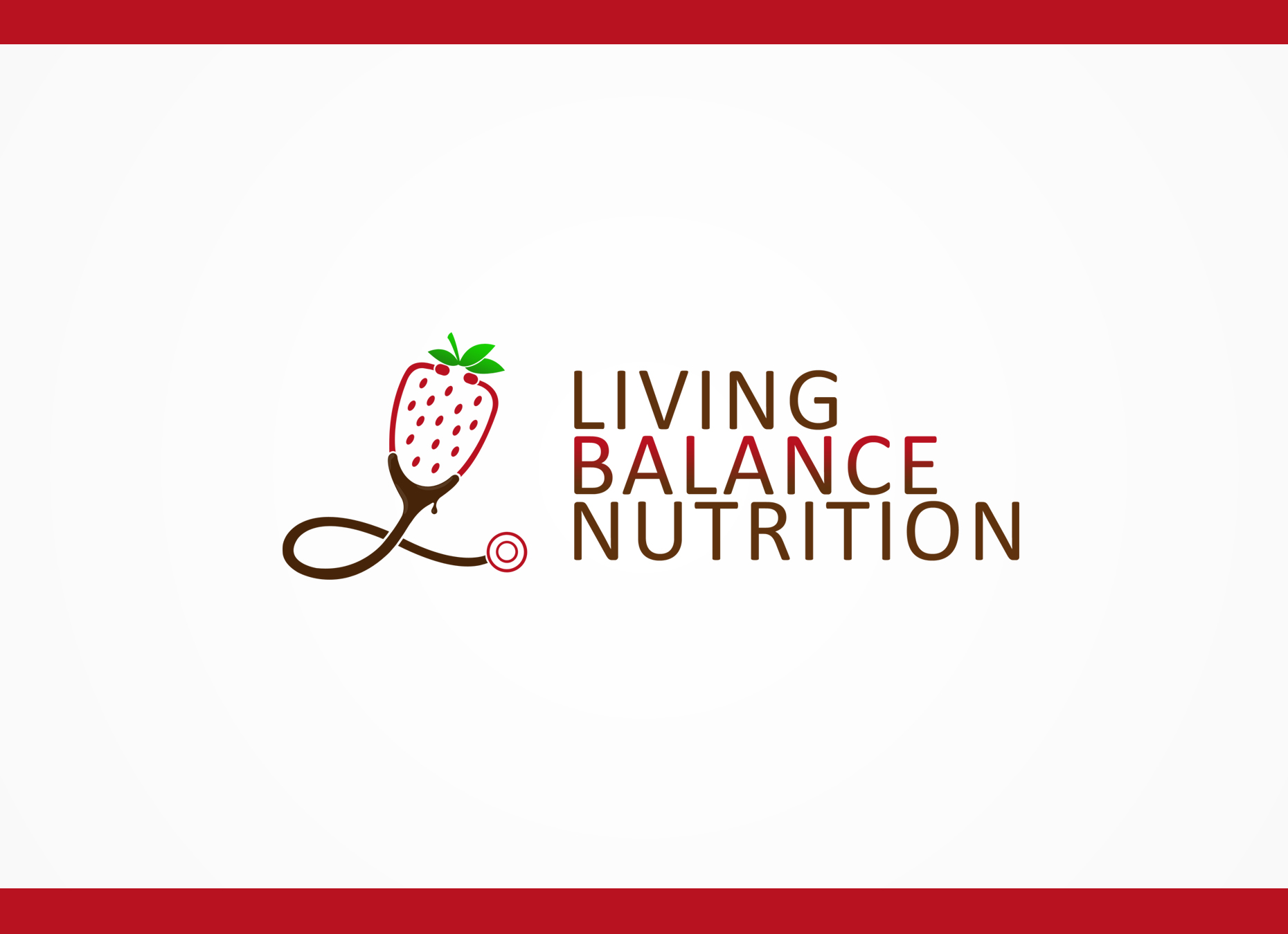 Logo Design by omARTist - Entry No. 47 in the Logo Design Contest Unique Logo Design Wanted for Living Balance Nutrition.