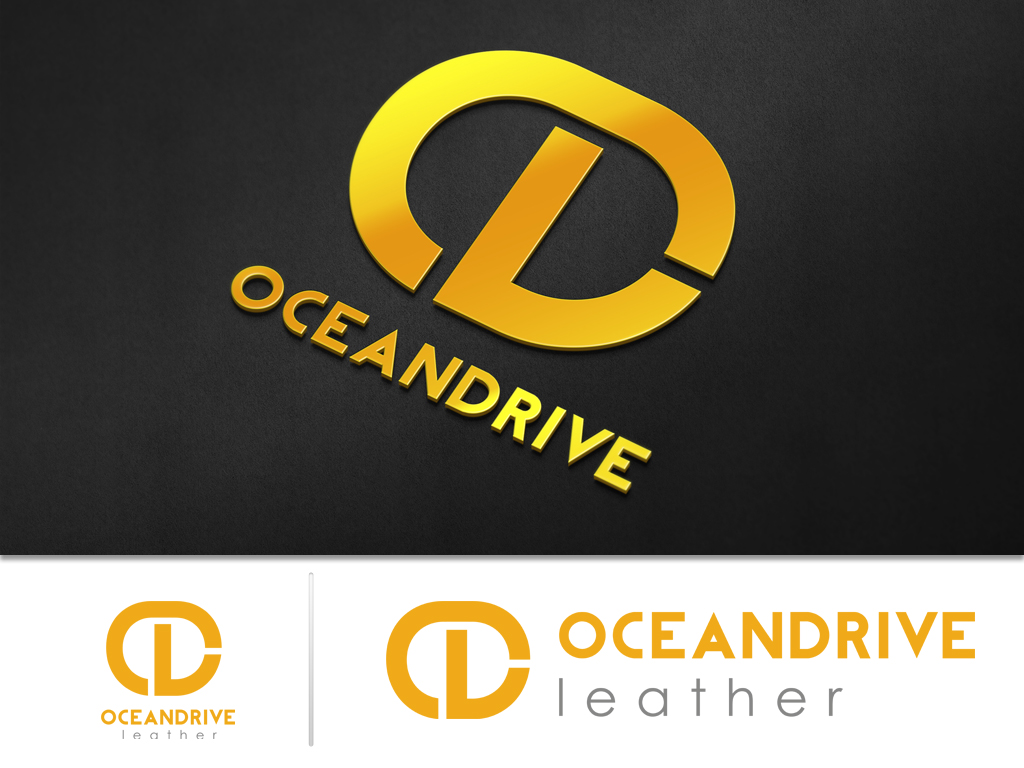 Logo Design by khoirul.azm - Entry No. 23 in the Logo Design Contest Captivating Logo Design for Oceandrive Leather.